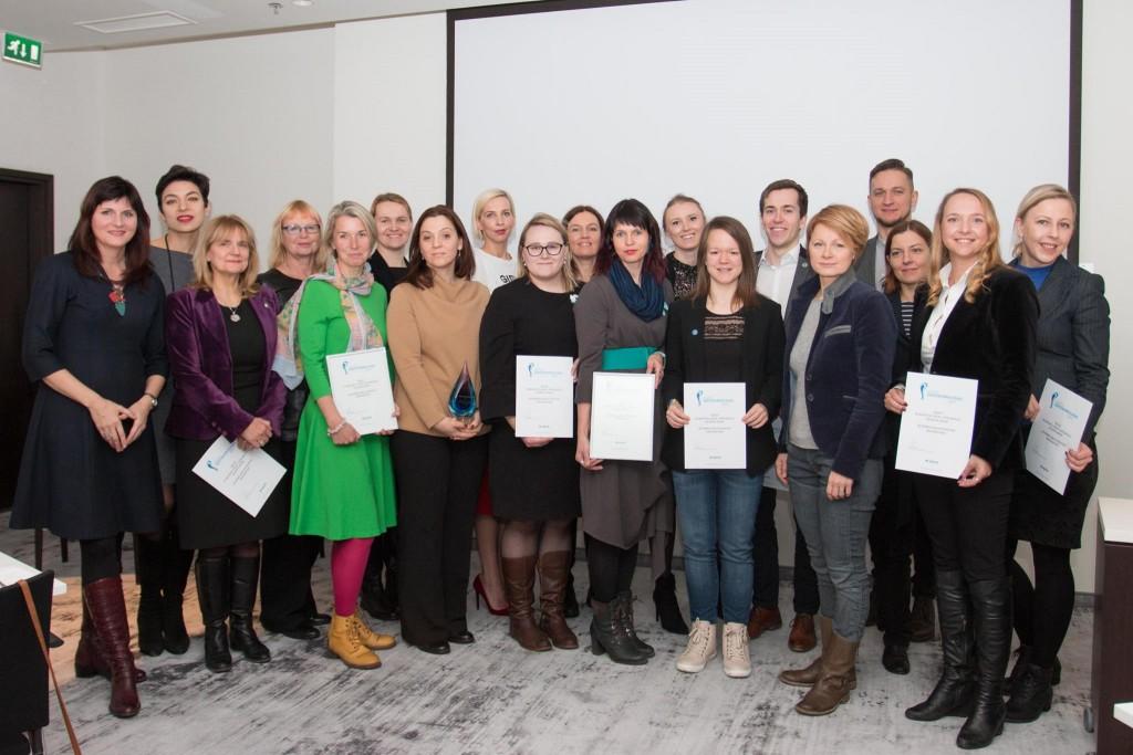 Aasta Suhtekorraldaja 2017 üleandmine - Eesti EL Nõukogu eesistumise kommunikatsioonitiim ja konkursi žürii