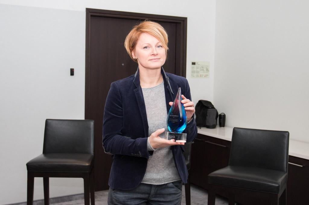Aasta Suhtekorraldaja 2017 üleandmine - Livia Vosman