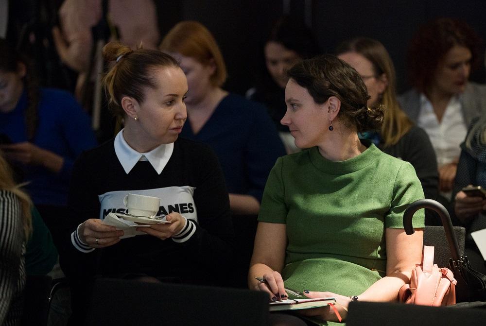 SEB pensionivlogi eestvedajad Julia Piilmann ja Jaanika Reinmann - foto Anna Aurelia Minev